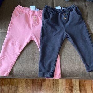 Set of 2 zara pants